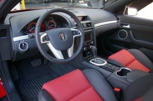 2008 Pontiac G8 GT Interior