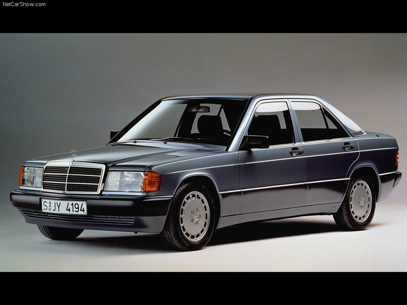 1984 Mercedes-Benz-190E. Long before the Japanese led by Acura,
