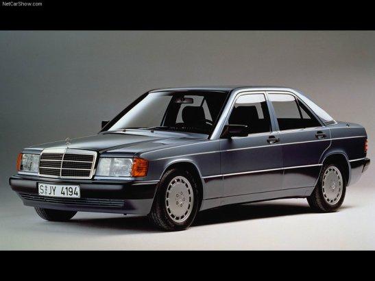 1984 Mercedes-Benz-190E