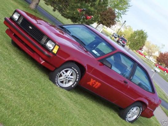 1984 Chevrolet Citation X-11