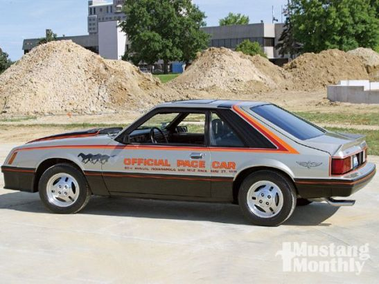 1979 Ford Mustang Indy Car Replica