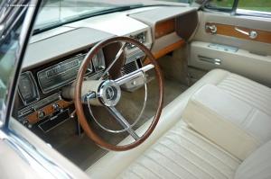 61 Lincoln Continental Interior