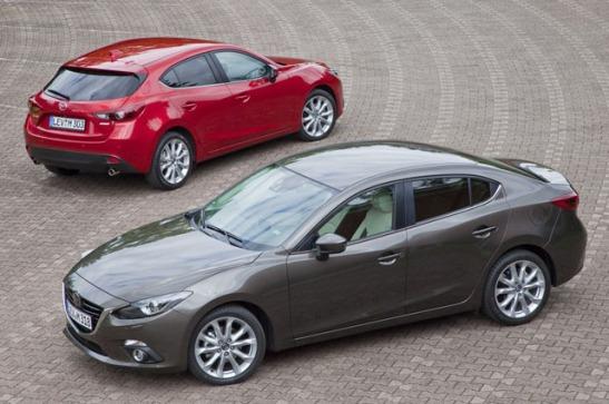 2014 Mazda3 Sedan and Hatch